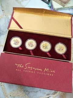 Singapore Mint - all things precious x 2