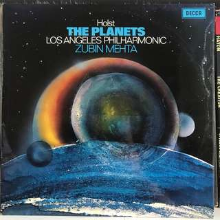 Holst The Planets Zubin Mehta DECCA SXL 6529