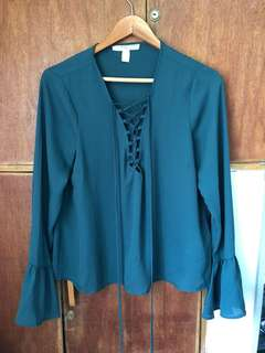 Forever 21 Blouse ( Used once)