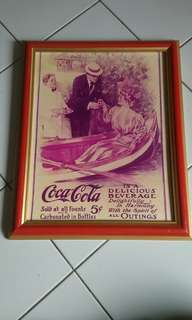 CocaCola picture Frame Collection