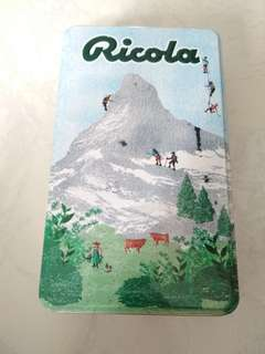 Ricola tin box