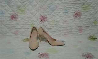Nude heels (korean brand) 😍