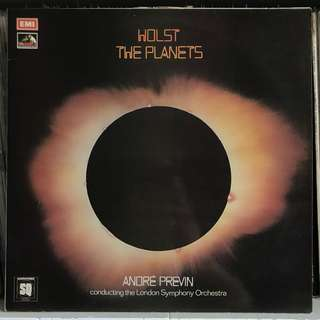 Holst The Planets Previn EMI ASD 3002