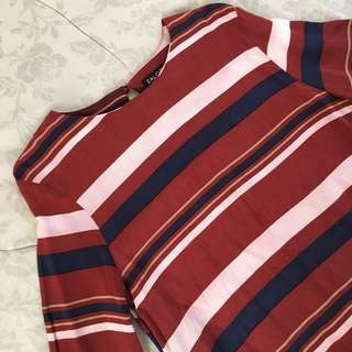 ZALORA COLLECTION --- Stripe Dress