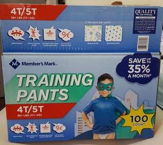 Members Mark Training Pants 4T-5T XXXL 38up lbs (17up kgs) 75 pcs
