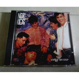 New Kids On The Block CD Step By Step