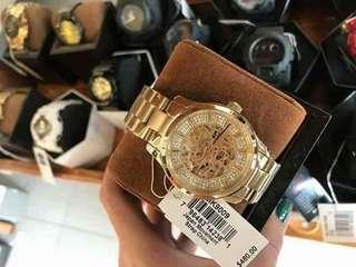 Michael Kors Skeleton Watch