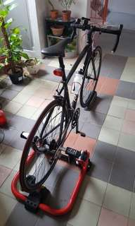 Raleigh Revenio 2 and mag trainer
