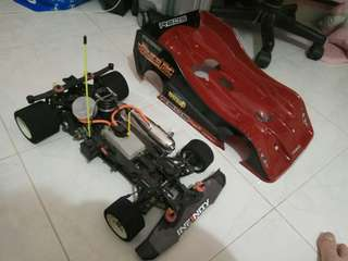 1/8 remote control car with new engine