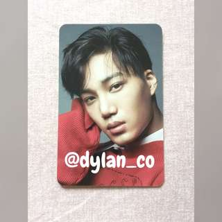 EXO Kai Jongin Countdown PC Photocard