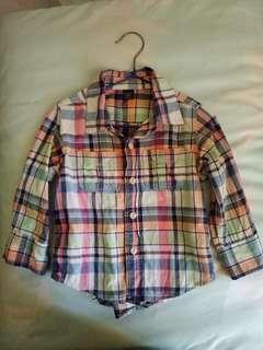 Baby Gap經典兒童襯衫
