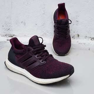 Adidas Ultra Boost 3.0 Dark Burgundy Size US 8.5