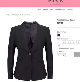 Brand new Thomas Pink Jacket西裝褸