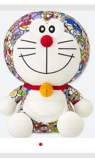 Tee + 公仔 UNIQLO x 村上隆 x 多啦A夢 叮噹 Doraemon 公仔 + 1件tee uniqlo