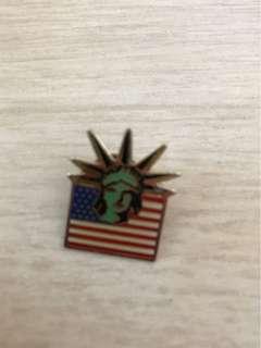 世界巡迴紀念襟章系列 美國紐約