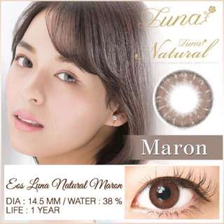 Softlens Eos Natural Luna
