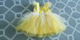 Yellow tuttu dress