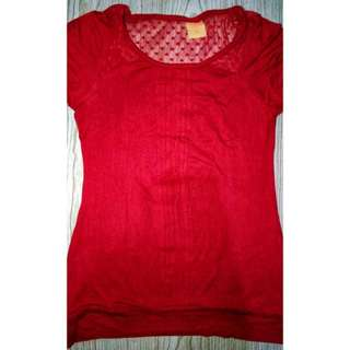 Crissa Red Top