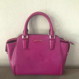 Authentic Charles & Keith Purple Bag with sling