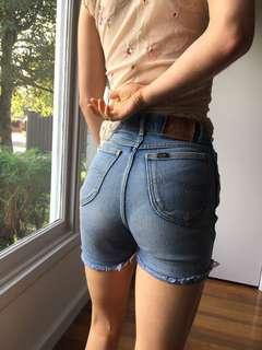 Vintage lee shorts