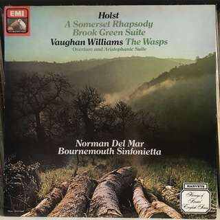 Norman Del Mar conducts Holst & Vaughan Williams EMI ASD 3953