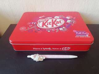 Kit Kat empty tin Japan rm7 NEW
