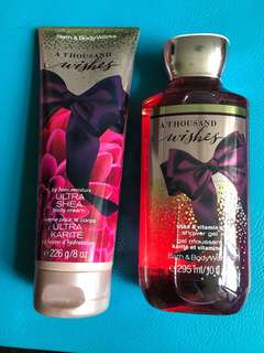 Bath & Body Works set