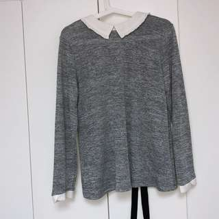 Dorothy Perkins Grey Blouse