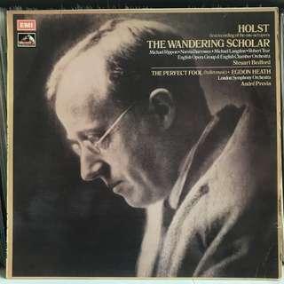 Holst The Wandering Scholar LSO Previn EMI ASD 3097