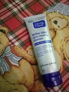 Clean 'n Clear Acne clearing cleanser