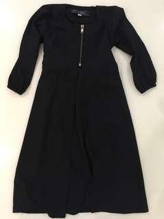 BUTTONMYBUTTONS Dress Jubah