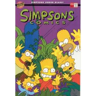 Simpsons Comics #12 (September 1995) - Survival of the Fattest!