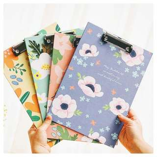 FLORAL A4 SIZE CLIPBOARD