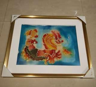 Hand Painted Dragon Artwork