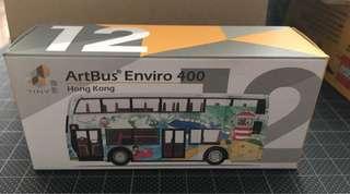 微影 Tiny#12 Artbus Enviro 400 藝術巴士