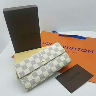 LV Wallet Azur