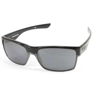 Authentic Brand new Oakley Twoface OO 9189-02 Polished Black/Black Iridium Men's Sunglasses