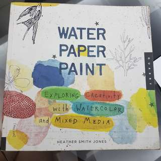 Water Paper Paint Book