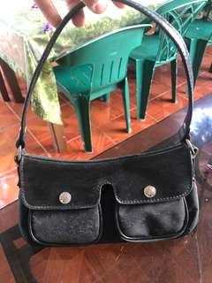 Mango bag in black nylon - Original
