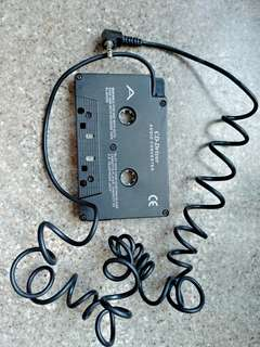 Audio to Cassette player conveter音頻卡式機轉換器