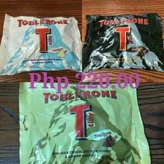Toblerone Php 220 each bag
