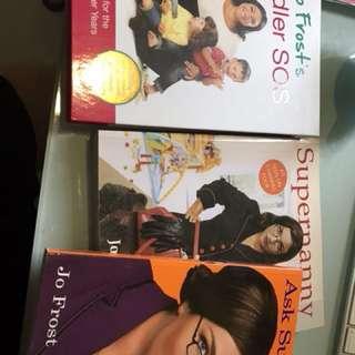 Supernanny books x 3