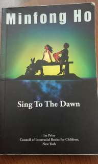 Sing to the dawn storybook