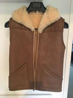 Sheep wool vest