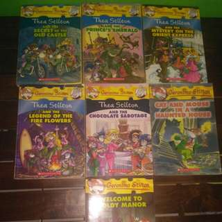 Geronimo Stilton books (7 buku)