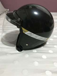 Classic motor helmet L size