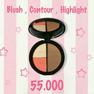 Focallure Blush, Contour, Highlight