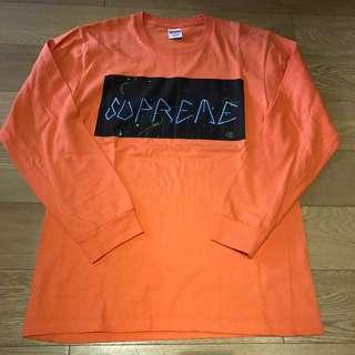 Supreme long-sleeved tee