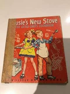Susie's New Stove - Little Golden Book