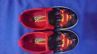 Superman character shoe, size 25